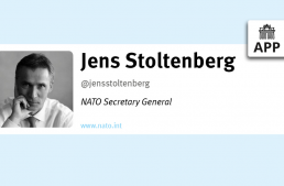 In 140 Characters (#i140c): Jens Stoltenberg