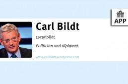 In 140 Characters (#140c): Carl Bildt