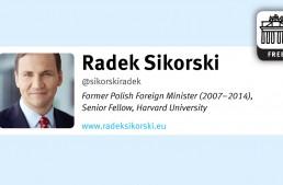 In 140 Characters: Radek Sikorski