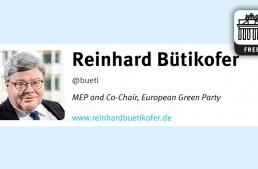 In 140 Characters: Reinhard Bütikofer