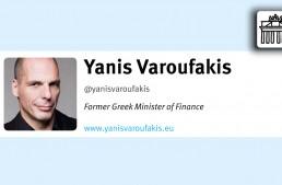 In 140 Characters: Yanis Varoufakis