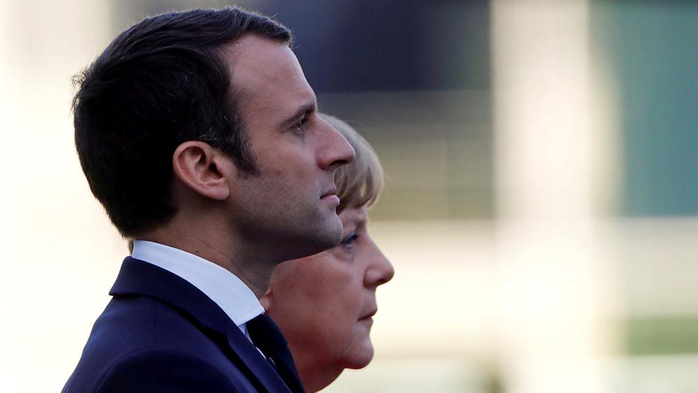 Macron's Serve
