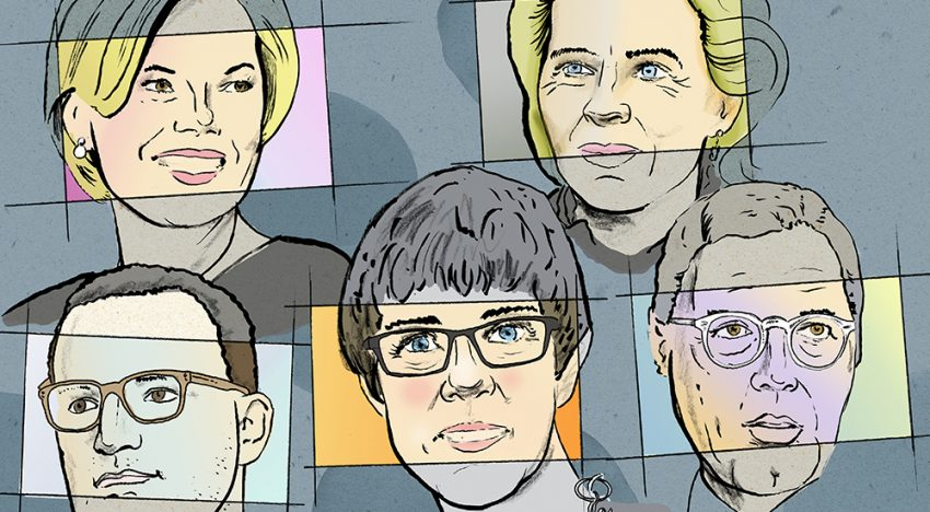 Close-Up: Merkel's Heirs