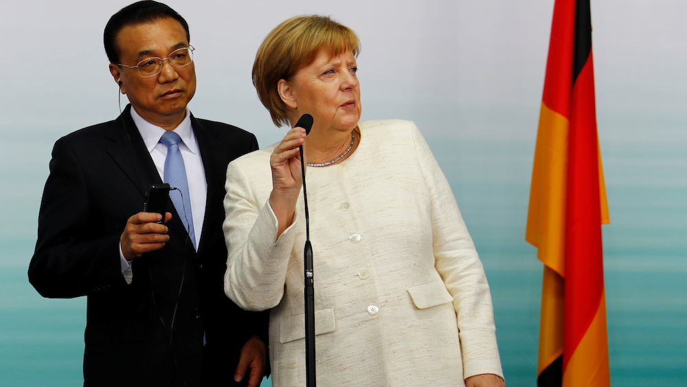 German Industry Comes Clean on China