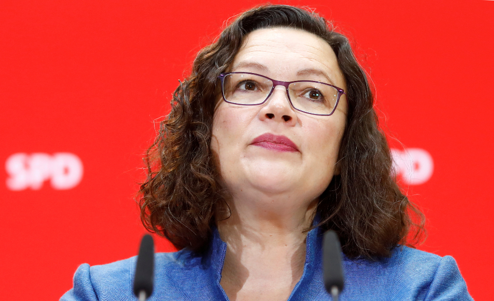 Andrea Nahles and the Rudderless SPD