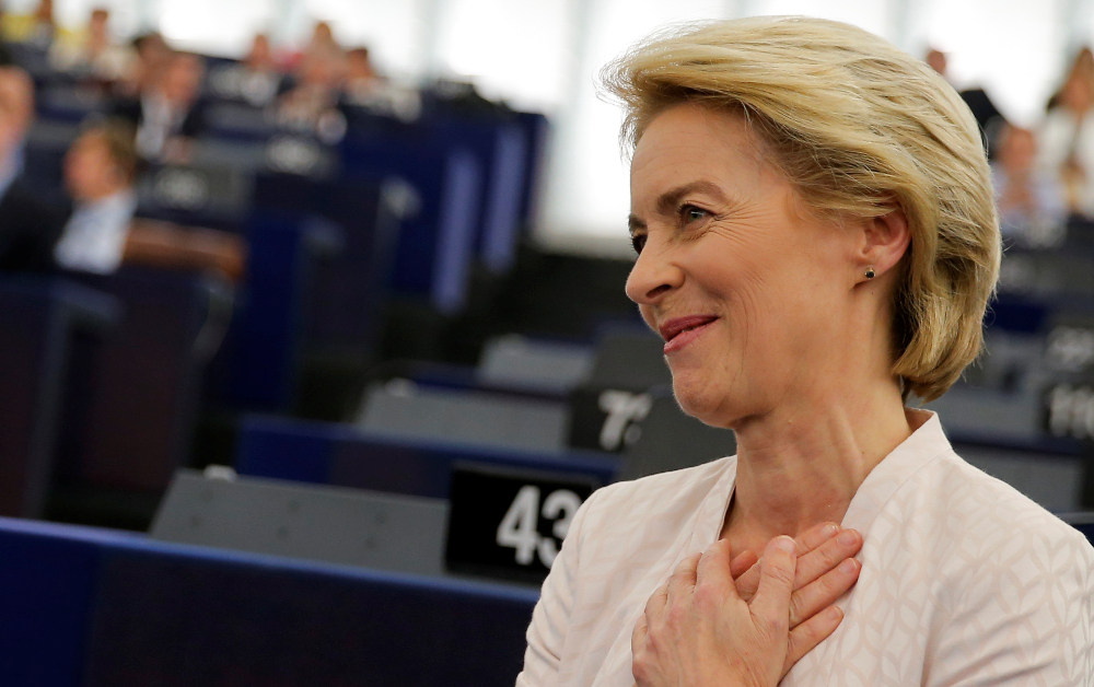 Von der Leyen's in and the Spitzenkandidat's Dead