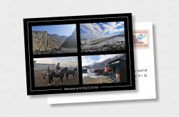 Postcard from the New Silk Road: Routes of Escape