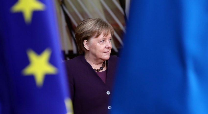Merkel in the Middle