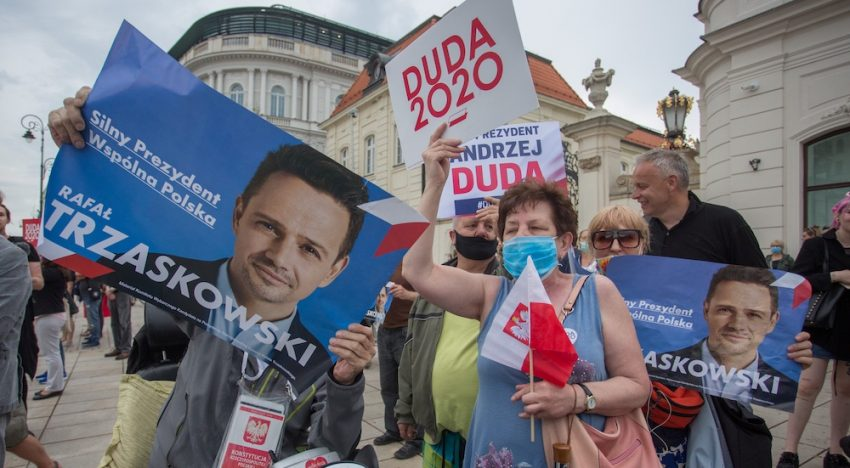 The Fight for Poland's Place in Europe